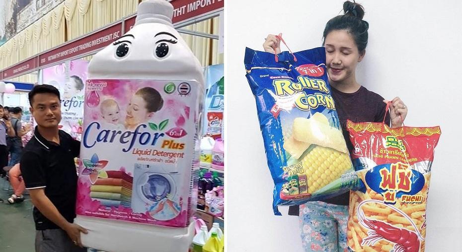 """Chuỗi cửa hàng """"Made in Thái Lan"""" đổ bộ Gia Lai cùng con sốt nước giặt xả Carefor thần thánh"""