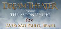 Ingressos Dream Theater em São Paulo