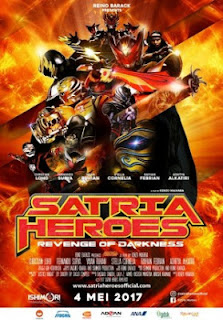Satria Heroes: Revenge of Darkness (2017) MP4