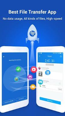 SHAREit Ad free v4.6.78_ww اخر اصدار بدون اعلانات مع اخر تحديثات 2019 نقل الملفات اسرع من البلوتوث لهواتف الاندرويد