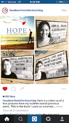 Hope Is an Open Heart: Mentor Text and Inspirational Bulletin Board
