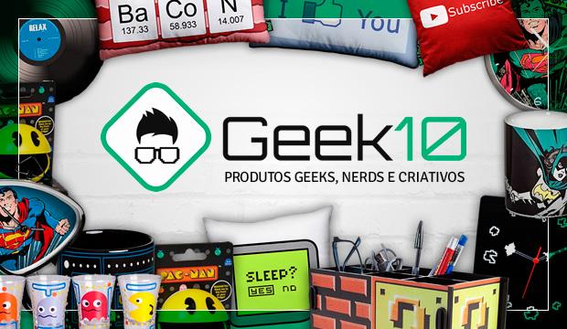 Loja Geek 10: Produtos geeks, nerds e criativos