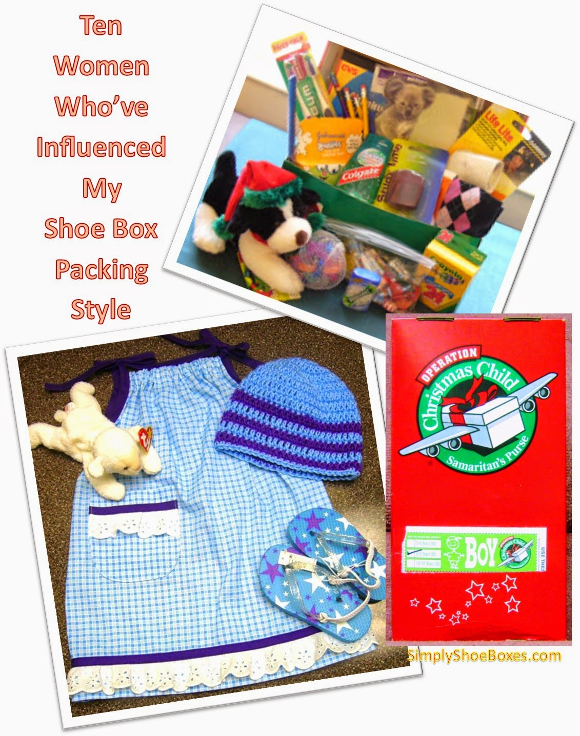 Simply shoeboxes ten women who have inspired my operation