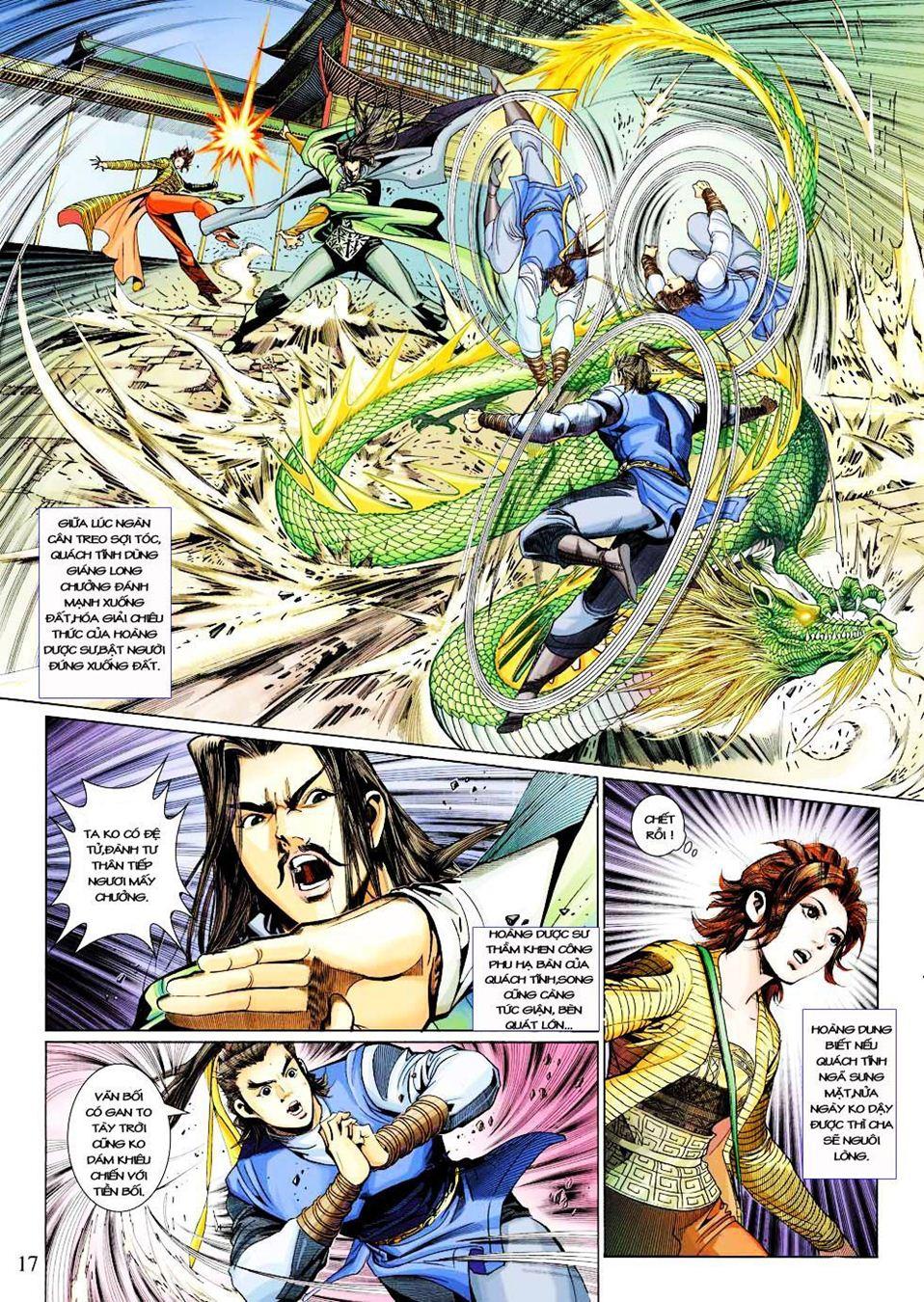 Anh Hùng Xạ Điêu anh hùng xạ đêu chap 33 trang 17