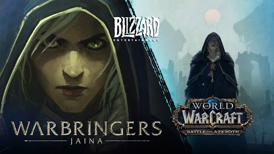 world of warcraft warbringers jaina proudmoore