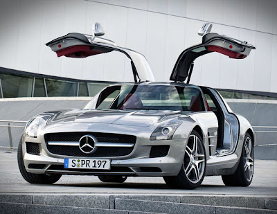 Almost Everything Car Painting-Mercedes Benz SLS AMG in good condition