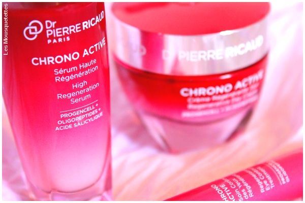 Avis blog beauté : Nouvelle gamme cosmétique : Chrono Active du Dr Pierre Ricaud