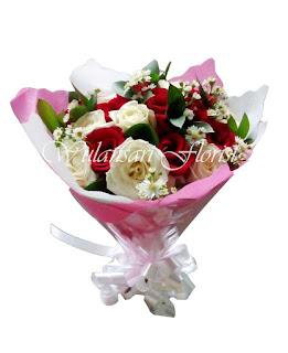 Hand Bouquet Mawar (WS-133)
