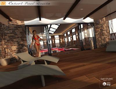 Resort Pool House