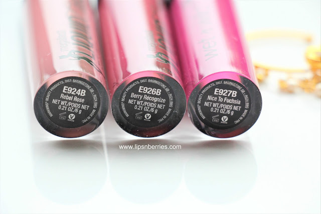 wet n wild catsuit matte lipstick