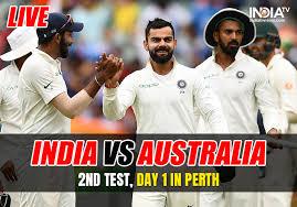 IND vs AUS 2nd test 2018