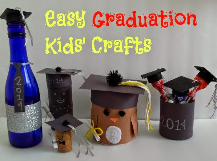 http://b-is4.blogspot.com/2014/06/easy-fun-graduation-kids-crafts.html