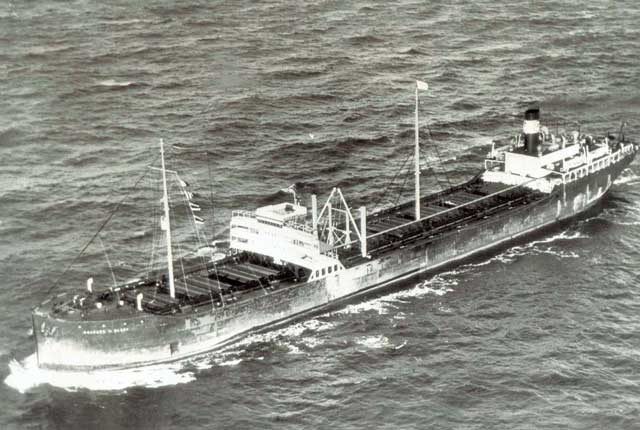 SS Venore, sunk off the North Carolina coast on 24 January 1942 worldwartwo.filminspector.com