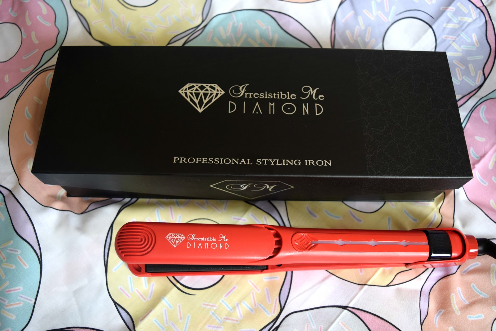 Match Made in Heaven: Irresistible Me Diamond Hair Styling Iron*