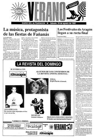 La música, protagonista de las fiestas de Fañanás