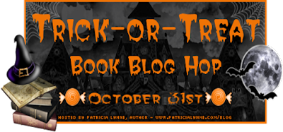 Banner for Trick-or-Treat Book Blog Hop.