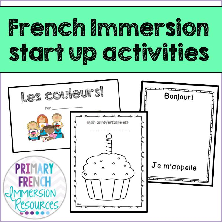 french back to school resources primary french immersion resources. Black Bedroom Furniture Sets. Home Design Ideas