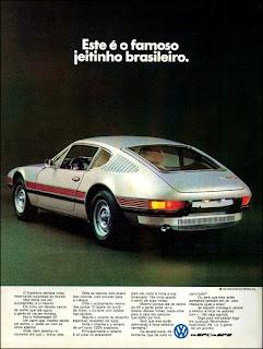 propaganda Volks SP 1 e SP 2 - 1972, vw anos 70, carros Volkswagen década de 70, anos 70; carro antigo Volks, década de 70, Oswaldo Hernandez,
