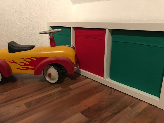 Wochenende in Bildern im November - Möbel aufgebaut