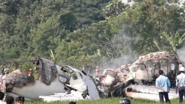 Animasi Kecelakaan Garuda Indonesia GA 152 Tahun 1997: 222 Tewas