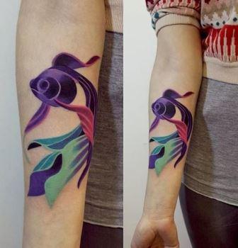 Gambar Tatto Ikan 8