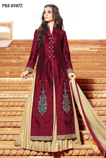 Jacket style lehenga cholis with dupatta online