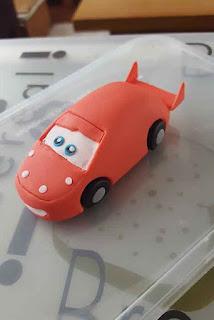 Taarten Van Linda How To Bliksem Mcqueen Cars Van Fondant