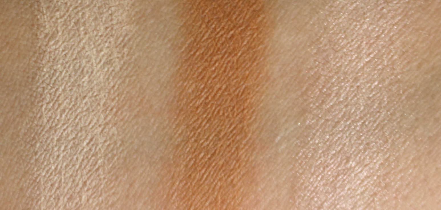 make up for ever artist color shadow M500 M650 I528 swatches