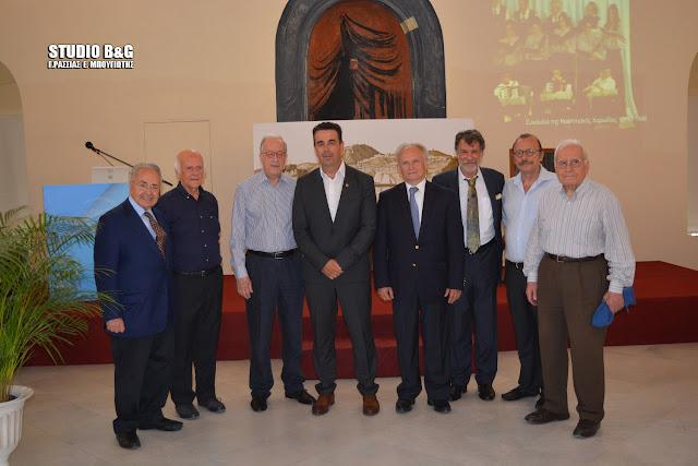Ανδριανός: Ο Βασίλης Χαραμής έχει μια εμβληματική θέση προσφοράς στον πολιτισμό του Ναυπλίου και  της Αργολίδα