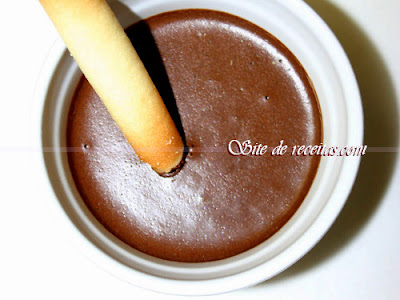 Mousse rapidíssimo de chocolate