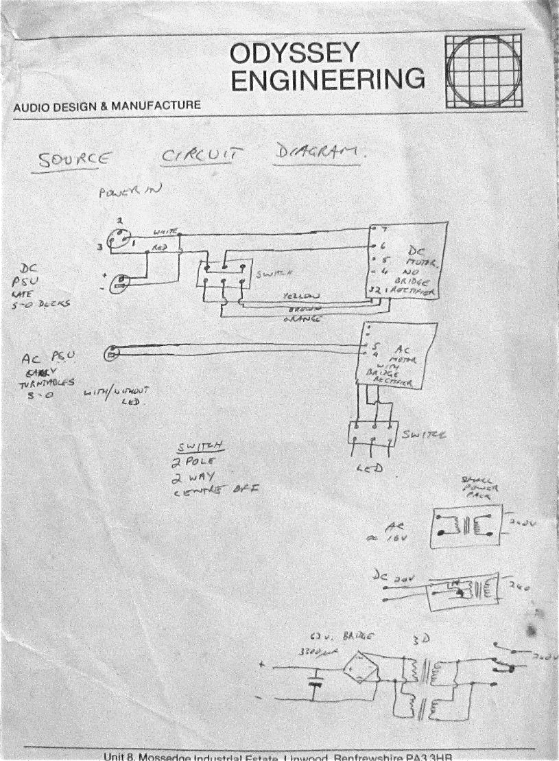 Turntable Wiring Diagram
