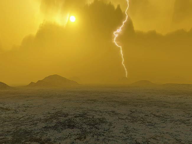 mars and planet venus atmosphere - photo #3
