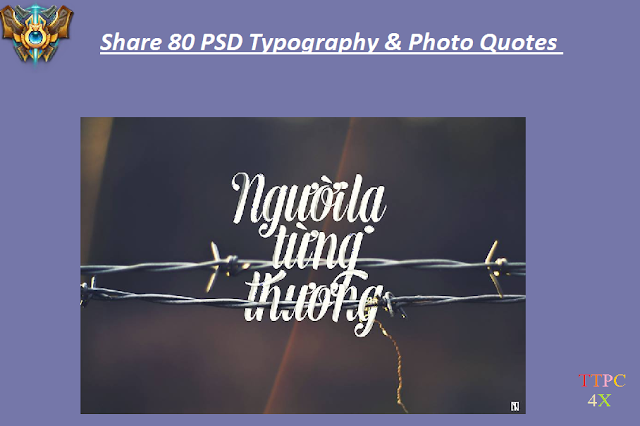 Share 80 PSD Typography & Photo Quotes