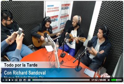 Luthier Claudio Rojas En Radio nuevo Mundo
