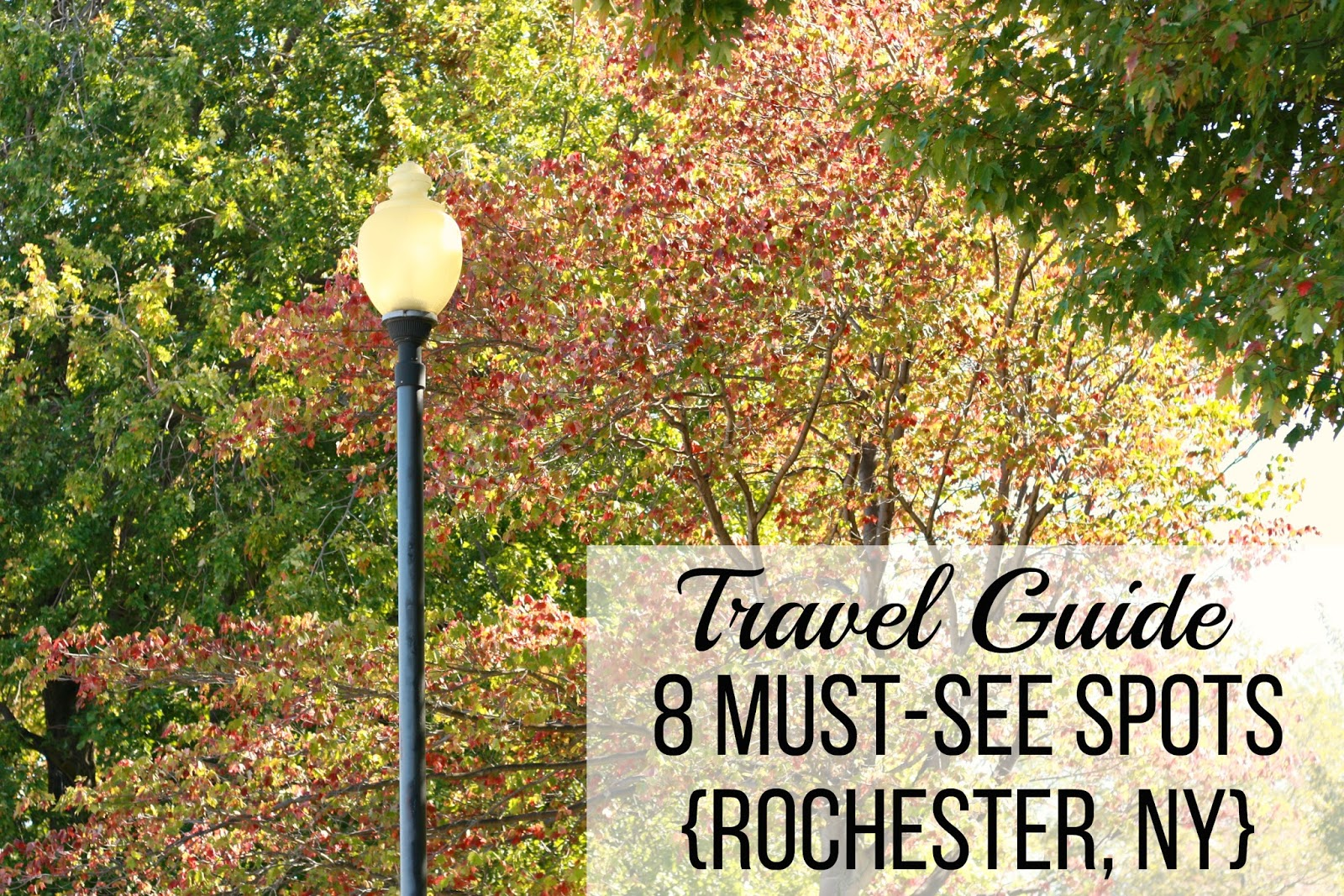 BG by Christina: Travel | Travel Guide 8 Must-See Spots {Rochester, NY}