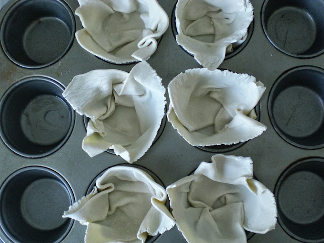 Rezept Blätterteig Nektarinen Mandelsplitter einfach lecker Herbst