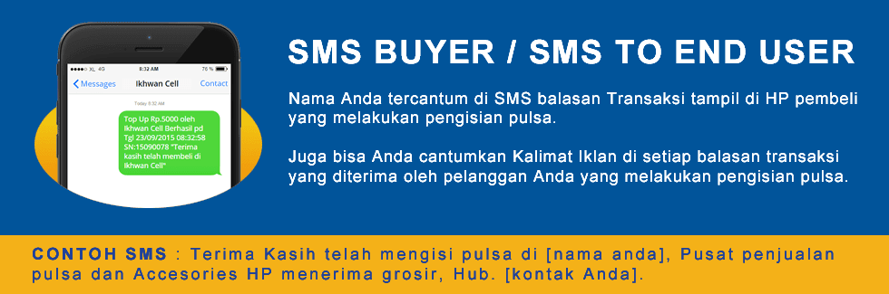 CARA SETTING SMS BUYER REJEKI 58  PULSA