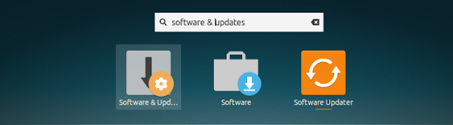 software updates in gnome shell 750x207 - Cara Menginstal Etcher, Tool Untuk Burn USB Open-Source di Linux Ubuntu