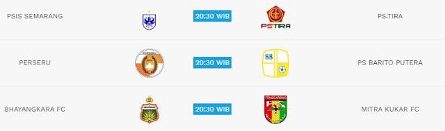 Jadwal Liga 1 Kamis 17 Mei 2018 - Siaran Langsung Indosiar & Streaming
