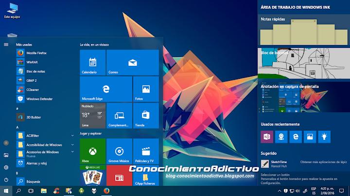 Descarga Windows 10 Anniversary Update