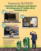 Campanie de donatii echipamente IT!