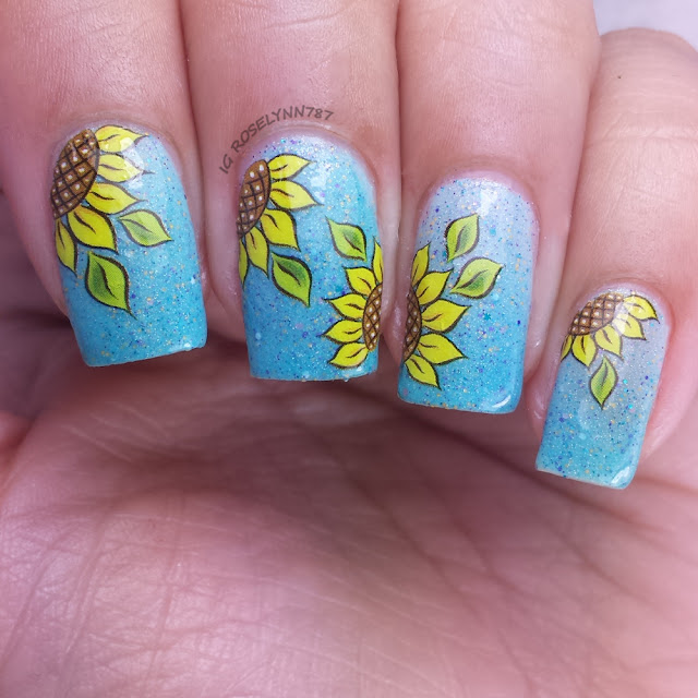 Born Pretty Store - Sunflower Decals