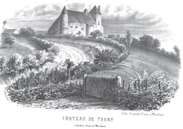Patrimoine de l'Allier: château de Toury