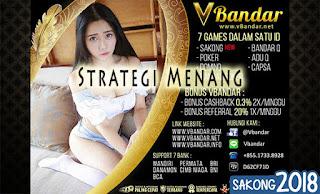 Strategi Menang Judi Domino Online VBandar.info