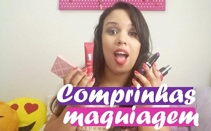Comprinhas: Maquiagem e cosméticos - Fevereiro/2016