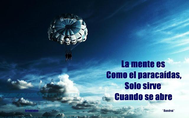 imagen La mente es como el paracaídas