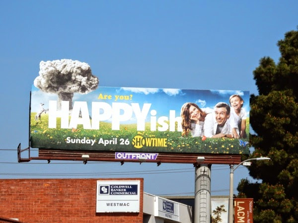 Happyish series premiere billboard