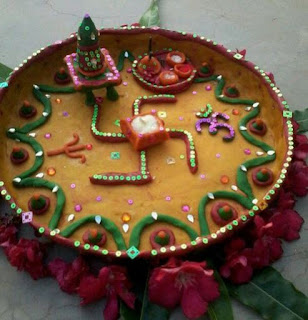 Aarti Thali Making Competition