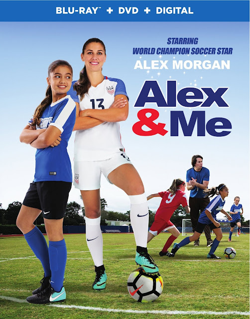 Shoot for Your Dreams in the Most Inspirational Movie of the Year! Alex & Me Available on Digital June 19, On Blu-ray™ and DVD June 26th #AlexAndMe #Giveaway