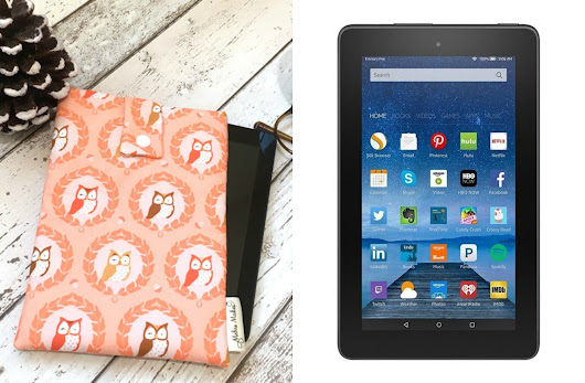 Kindle Fire, Owl Pouch & Amazon Gift Card Giveaway